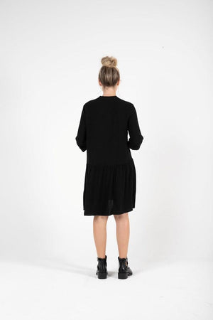 Load image into Gallery viewer, KoKo Shirt Dress - Black