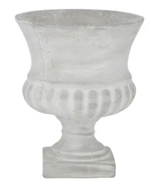 Load image into Gallery viewer, Greer Cement Urn 24.5x28.5cm
