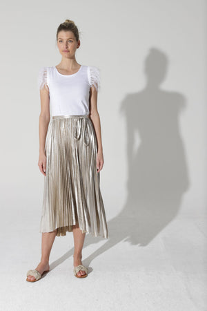 Load image into Gallery viewer, Moonstruck Skirt - Gold
