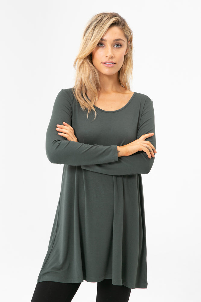 Leanne Tunic Woodrose (Purple)