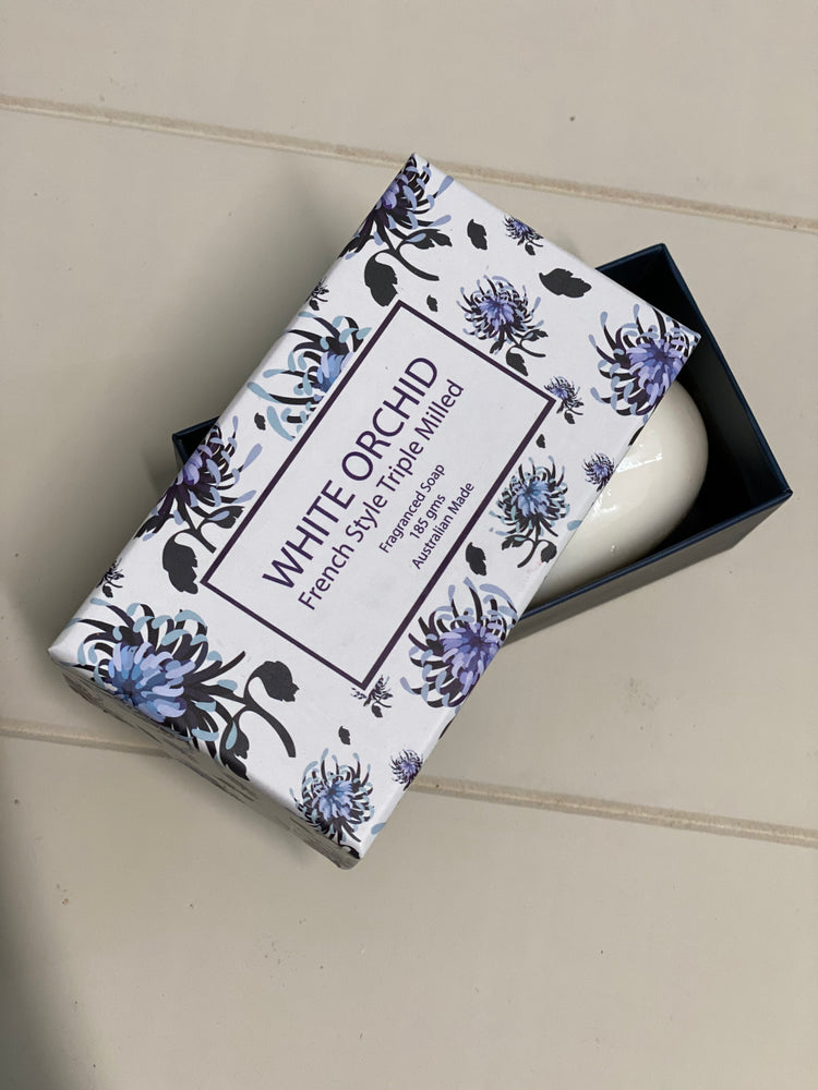 Large White Orchard Soap