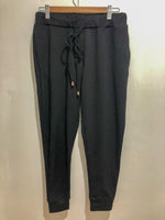 Mia Winter Trackies - Black