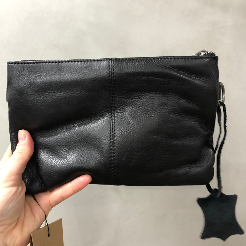 Kingston Clutch/Cross Body Bag - Black