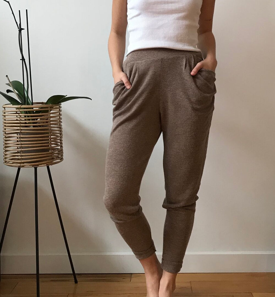 Load image into Gallery viewer, Lounge Latte Pants