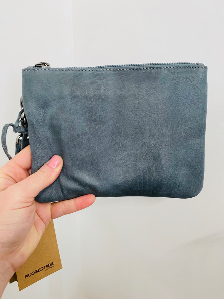 Gili Purse/Clutch - Steel Grey