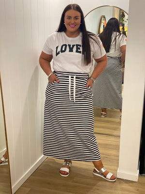 Load image into Gallery viewer, Ari Jogger Skirt - Stripe