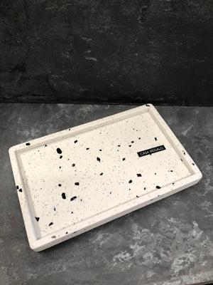 Load image into Gallery viewer, Terrazzo Tray - White