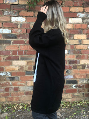 The Jade Cardigan - Black