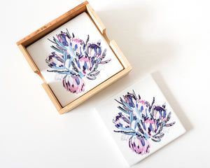 Load image into Gallery viewer, Colour Bunch - Ceramic Coasters