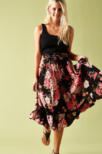 Marquis Maxi Skirt Bubble Gum