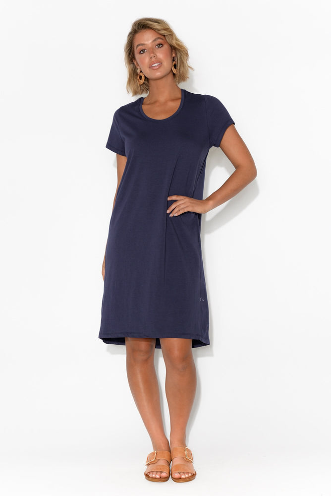 Load image into Gallery viewer, Betty Dress - Navy