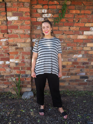 Load image into Gallery viewer, Marle Stripe Tee