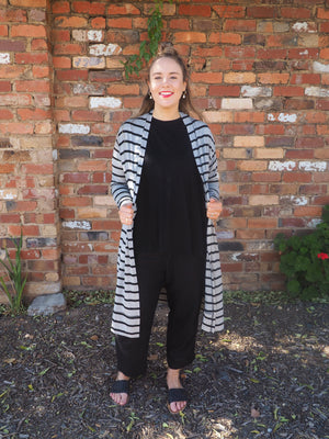 Load image into Gallery viewer, Marle Stripe Cardi