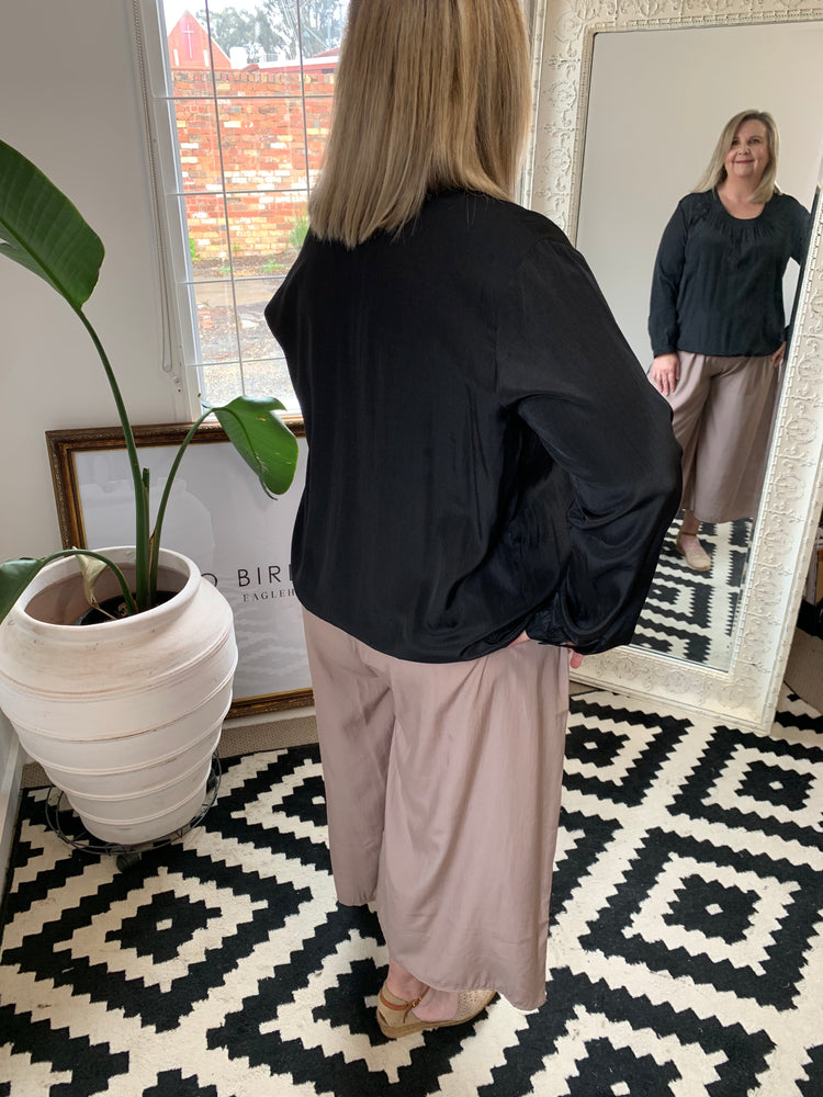 Load image into Gallery viewer, Wide Leg Pant - Late