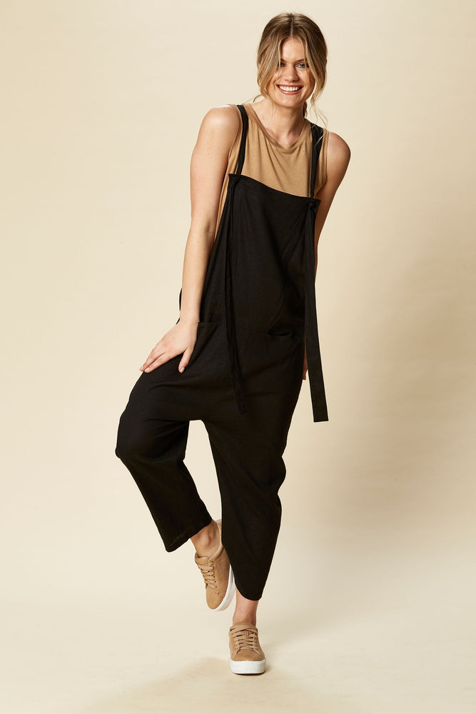 Siela Jumpsuit Sable