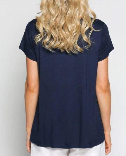 Load image into Gallery viewer, Swing Tee- Navy