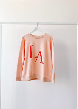Load image into Gallery viewer, LA Sweater Peach