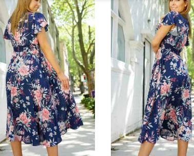Load image into Gallery viewer, Zakita Maxi Dress