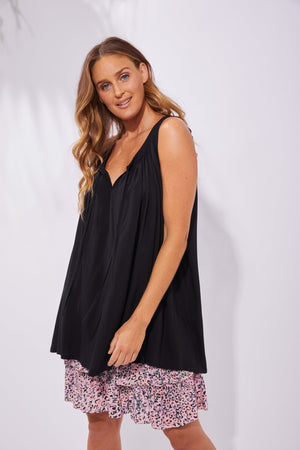 Load image into Gallery viewer, Havana Blouse - Black