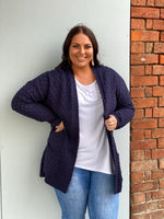 Zuly Knit Cardigan - Navy