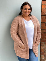 Zuly Knit Cardigan - Blush