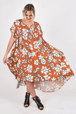 Opulent Dress- Maple Wildflower
