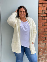 Zuly Knit Cardigan - Snow