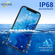Load image into Gallery viewer, Waterproof Phone Case For iPhone - GK Iphone Case Store