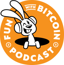 Load image into Gallery viewer, 'FUN WITH BITCOIN' PODCAST' with BACK logo Short-Sleeve Unisex T-Shirt