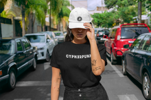 Load image into Gallery viewer, CYPHERPUNK Women's short sleeve t-shirt - moeda-rags