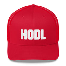 Load image into Gallery viewer, CLASSIC HODL Trucker Cap - moeda-rags