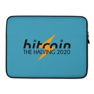 THE BITCOIN HALVING 2020 Laptop Sleeve