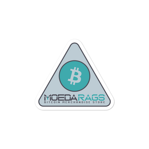 MOEDA RAGS MERCH STORE! Bubble-free stickers - moeda-rags