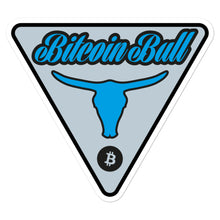 Load image into Gallery viewer, Bitcoin sticker - Bitcoin Bull - moeda-rags