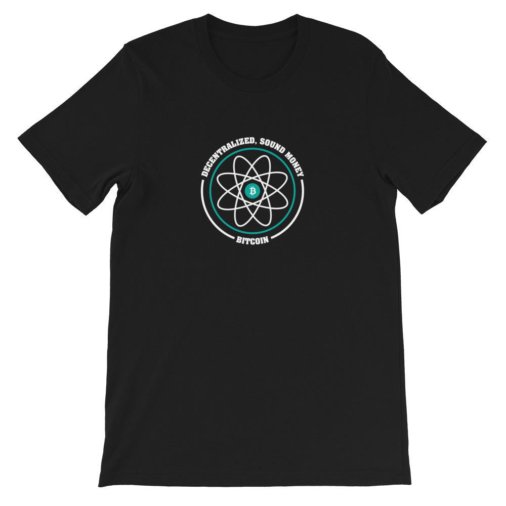 DECENTRALIZED and SOUND Short-Sleeve Unisex T-Shirt - moeda-rags
