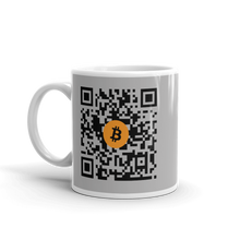Load image into Gallery viewer, QR CODE Bitcoin Mug - moeda-rags