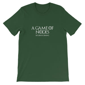 A GAME OF NODES Short-Sleeve Unisex T-Shirt - moeda-rags