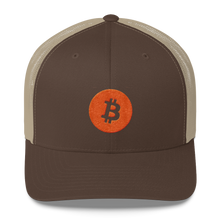 Load image into Gallery viewer, CLASSIC BTC Trucker Cap - moeda-rags