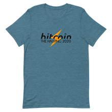 Load image into Gallery viewer, Bitcoin halving 2020 t-shirt - Moeda Rags