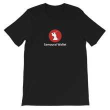 Load image into Gallery viewer, SAMOURAI WALLET Short-Sleeve Unisex Bitcoin T-Shirt - moeda-rags