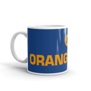 ORANGE COIN BItcoin Mug - moeda-rags