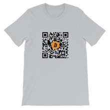 Load image into Gallery viewer, QR CODE Short-Sleeve Unisex T-Shirt - moeda-rags