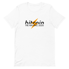 Load image into Gallery viewer, THE BITCOIN HALVING 2020 Short-Sleeve Unisex Bitcoin T-Shirt