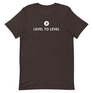 LEVEL TO LEVEL BITCOIN TRADER Short-Sleeve Unisex T-Shirt
