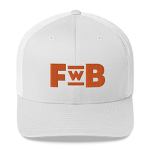 Load image into Gallery viewer, 'FUN WITH BITCOIN' PODCAST LOGO Trucker Cap