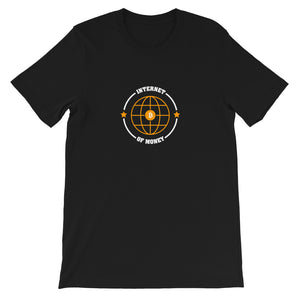 INTERNET OF MONEY Short-Sleeve Unisex T-Shirt - moeda-rags