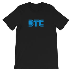 RETRO 'SEGA' BTC BITCOIN Short-Sleeve Unisex T-Shirt