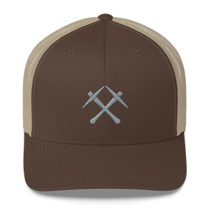 SIMPLE MINER PICKS Trucker Cap - moeda-rags