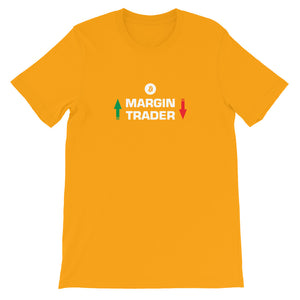 MARGIN TRADER Short-Sleeve Unisex T-Shirt - moeda-rags