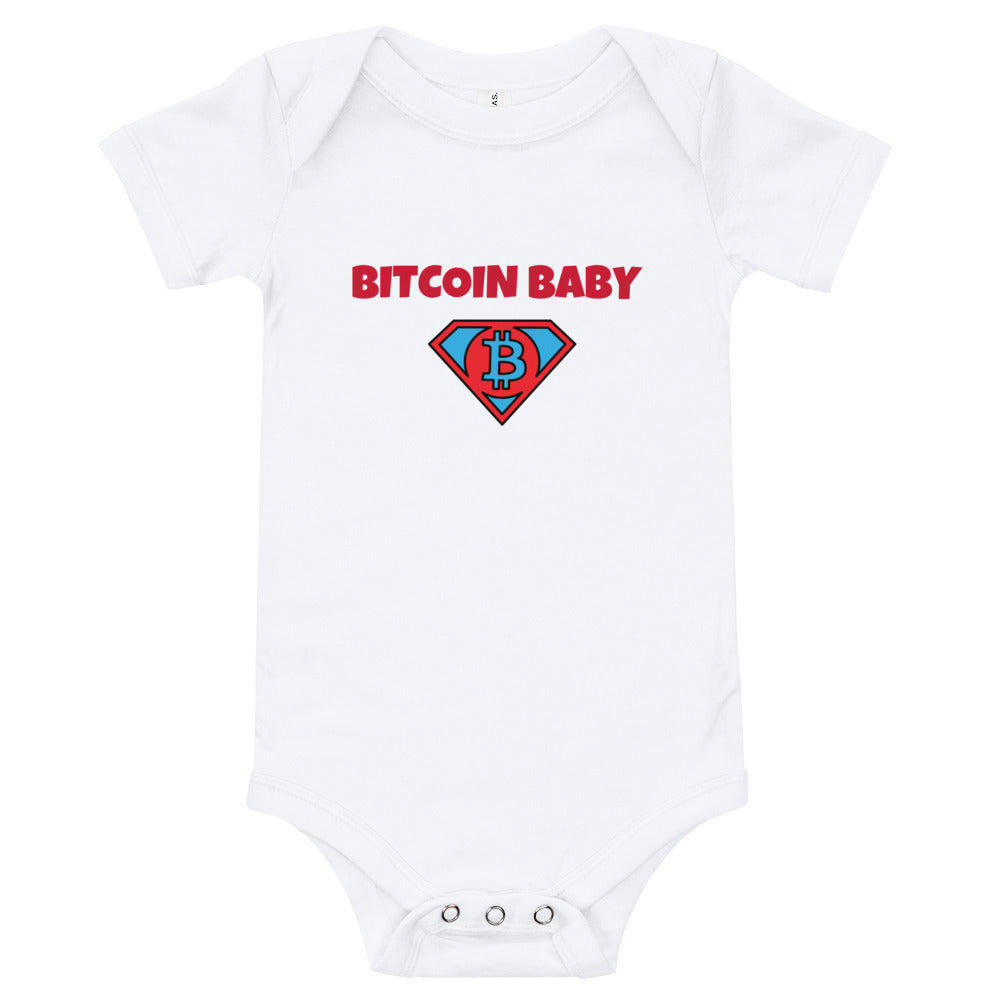 BITCOIN BABY Baby suit one piece - moeda-rags